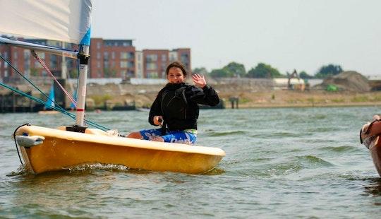 Rs Quba Daysailer Sailing Lessons In Southampton