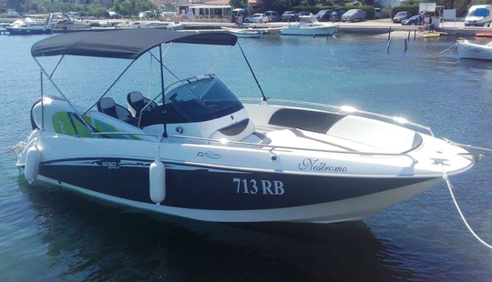 Rent 21' Galia 713 Center Console In Supetarska Draga, Croatia