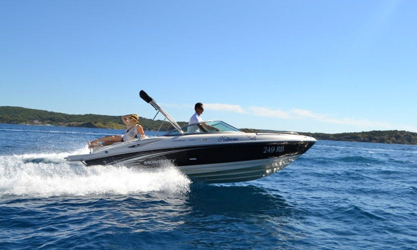 Rent 21' Monterey Center Console in Supetarska Draga, Croatia