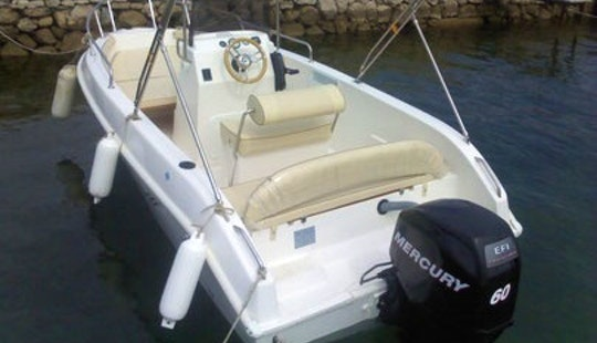Rent 16' Bellingardo Center Console In Supetarska Draga, Croatia
