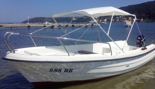 Rent 16' Adria Open Dinghy In Supetarska Draga, Croatia