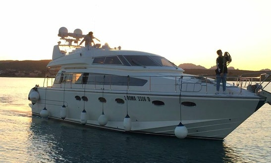 Charter A Motor Yacht In Sardegna, Italy