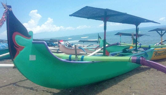 Check Out The Water Of Mengwi, Bali By Boat