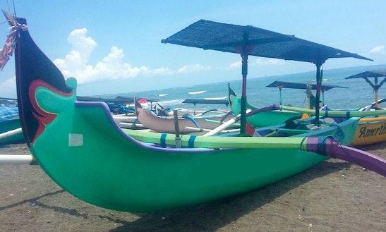 Charter Dana Asih Traditional Boat In Mengwi, Bali