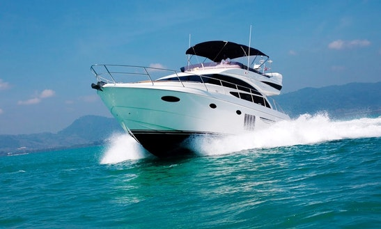 Charter 60' Power Mega Yacht In Phuket, Thailand