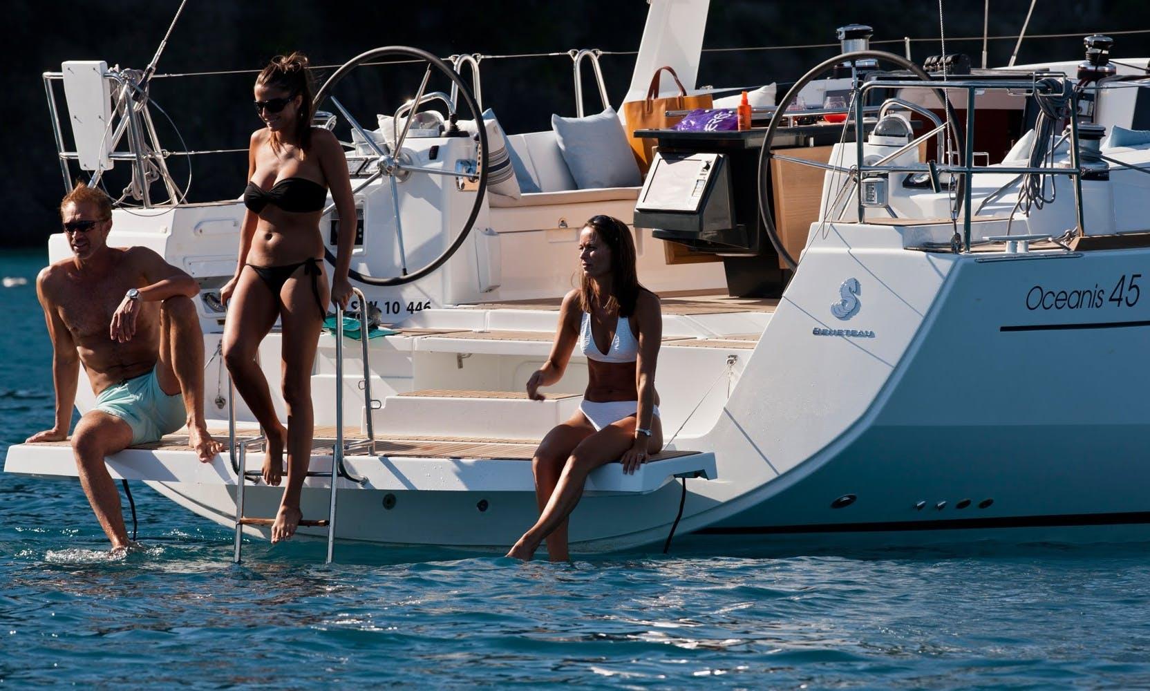 """Cruising Oceanis 45 Sailing Boat """"Ocean King"""""""