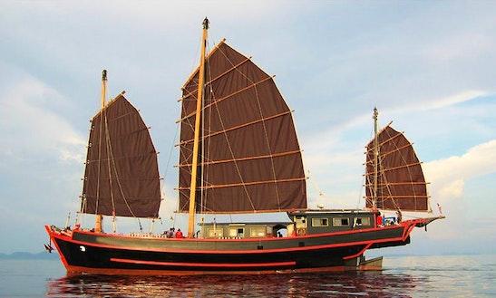 The Sy Junk Sailing Yacht In Tambon Rawai