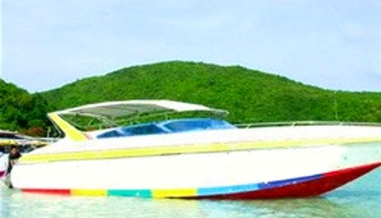Charter A Motor Yacht In Muang Pattaya, Thailand