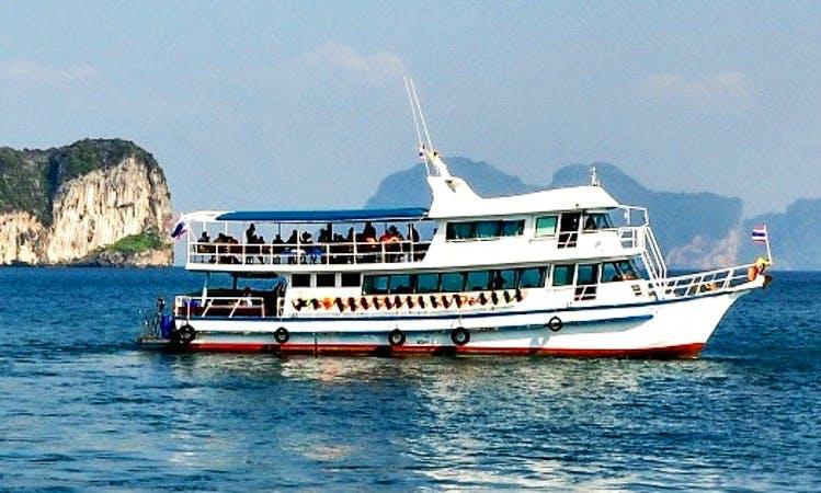 Deck Boat Rental in Tambon Sala Dan