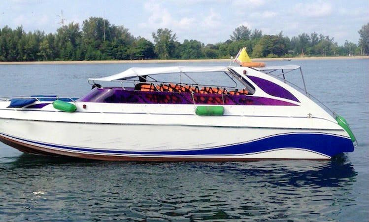 Charter a 24 person Speed Boat in Tambon Ko Lanta Noi, Thailand