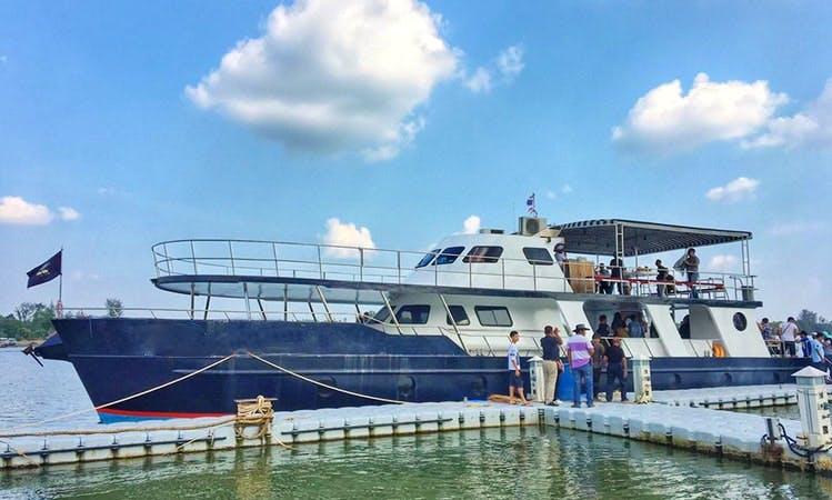 Charter a Power Mega Yacht in Krabi, Thailand