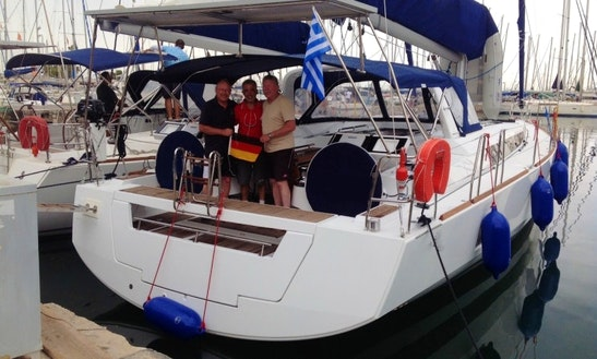 55' Beneteau Oceanis Yacht Charter Athens, Greece