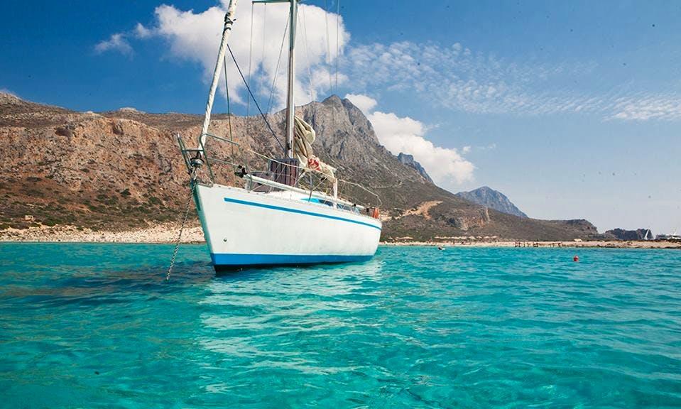 Charter 36' Cruising Monohull in Kissamos, Trachilos, Chania, Greece