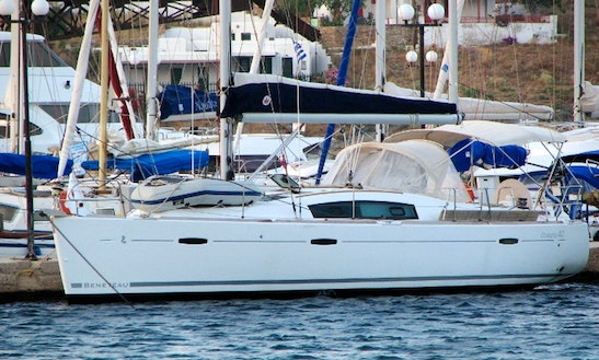 Charter A 2008 Oceanis Cruising Monohull In Attica, Greece For 8 Person