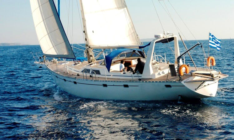 Charter the 55' Sailing Yacht Summer Breeze in Greece