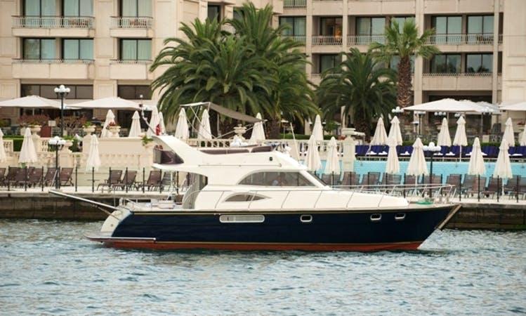 Charter 39' Motor Yacht in İstanbul, Turkey