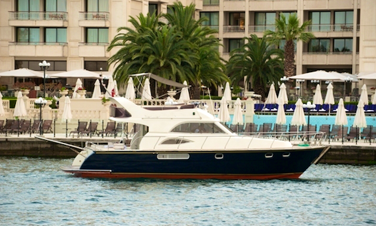Charter 39' Motor Yacht In İstanbul, Turkey