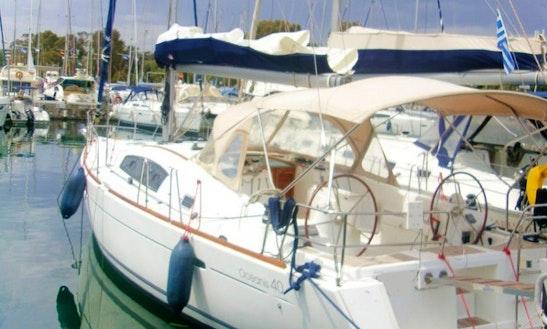 Charter 40' Beneteau Oceanis Athens, Greece