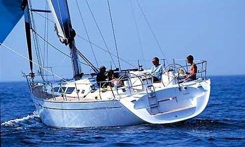 Charter ''Joanna'' Jeanneau 43 Cruising Monohull in Adamas, Greece