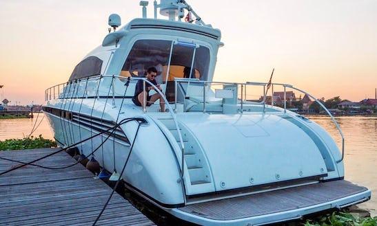 Charter 76' Leopard Power Mega Yacht In Bangkok, Thailand