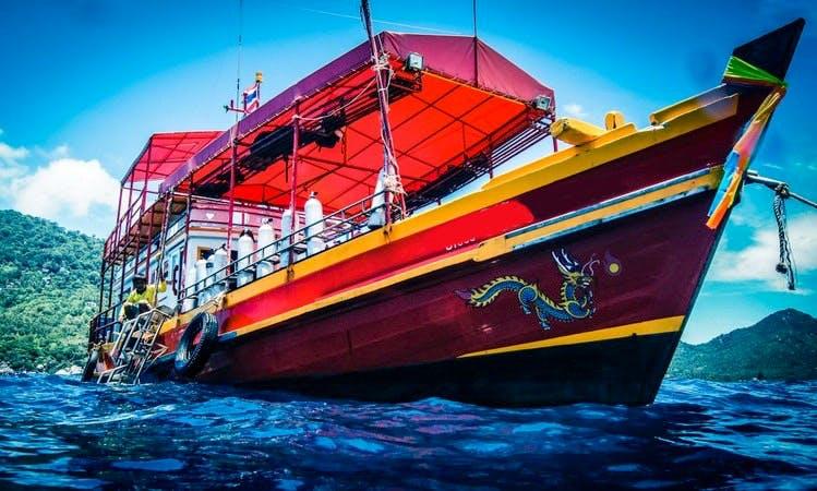 Diving Boat Tour in Tambon Ko Tao