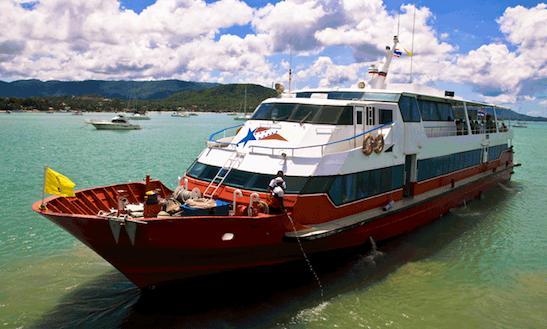 Passenger Boat In Bophut