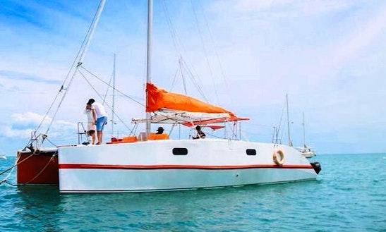 Charter A 8 People Cruising Catamaran In Ko Samui, Thailand