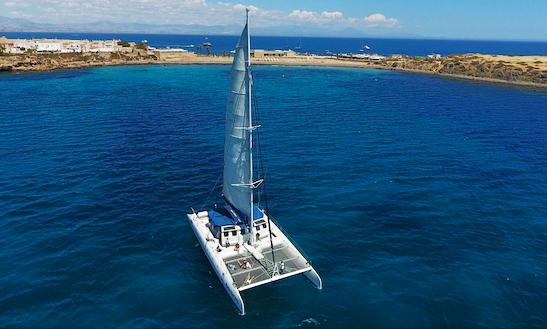 Charter 75' Cruising Catamaran In Alicante, Spain