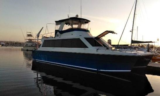 Enjoy Crusing San Diego, California With This Stylish Yacht!