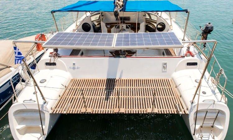Cruising Catamaran Rental in Levkas