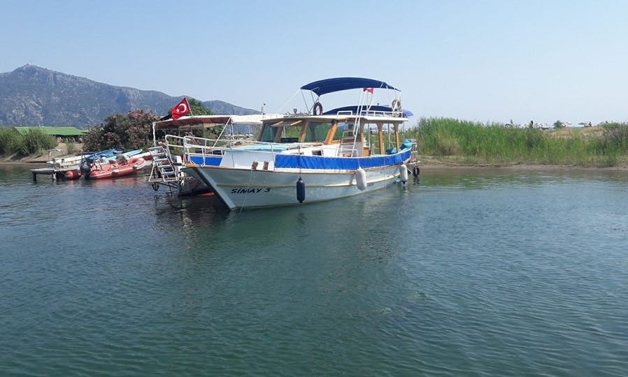 Have our captain show you around in Muğla, Turkey