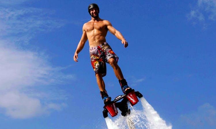 Enjoy Flyboarding in Aydın, Turkey