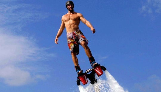 Enjoy Flyboarding In Aydın, Turkey