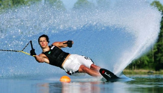 Enjoy Water Skiing In Aydın, Turkey