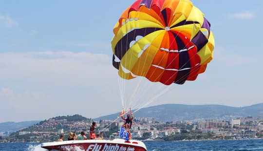 Parasailing Rides For 1 Or 2 People In Aydın, Turkey