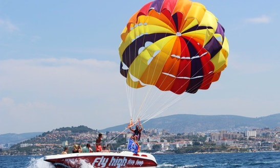 Enjoy Parasailing In Aydın, Turkey