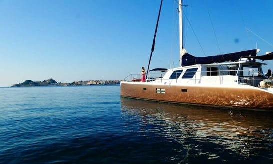 66' Mystique Cruising Catamaran Charter In Kerkira