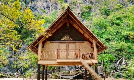 Beachside Chalet Villa Rental For Scuba Divers In Palawan, Philippines