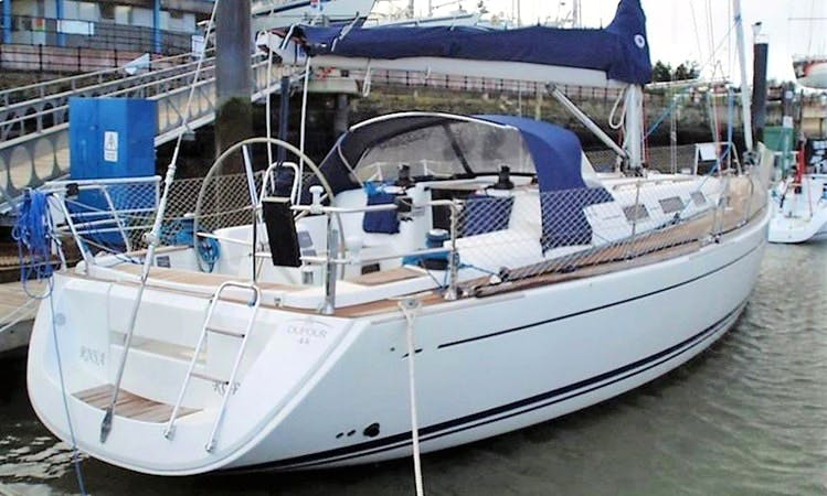 Charter 44' Doufur Cruising Monohull in Roma, Italy