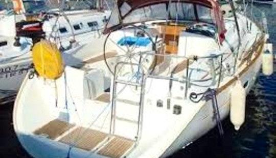 Beneteau Oceanis 411 Sailing Yacht Charter In Fiumicino