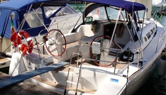 Sun Odyssey 42i Sailing Yacht In Furnari Italy