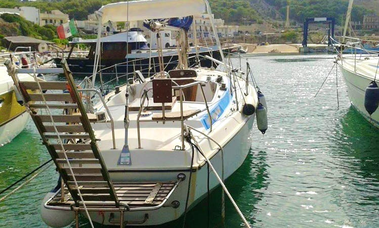 Charter the 35ft Serenity Sailing Yacht From Leuca, Italy