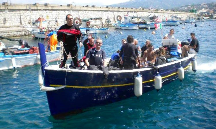 Diving Boat Trips in Centola