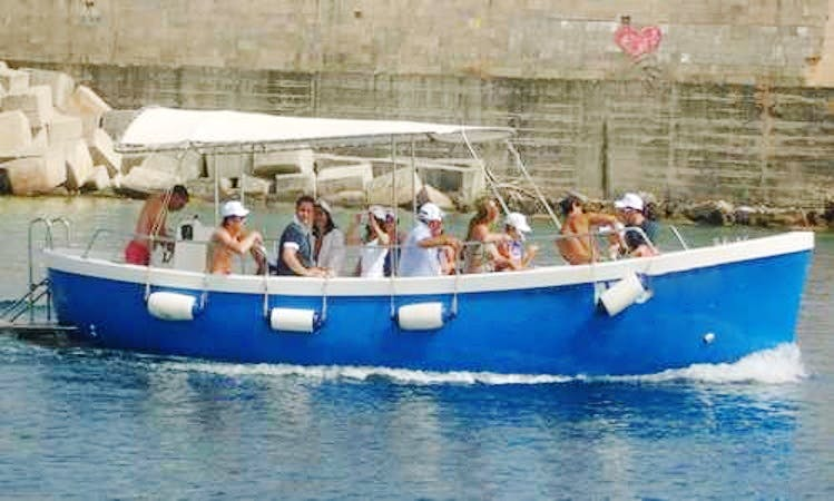 Azzurra 2 Motor Boat Sightseeing Tours in Castrignano del capo