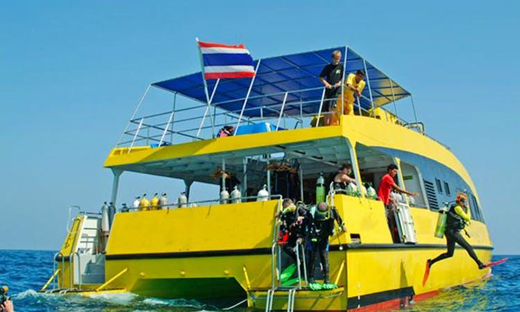 Day Scuba Charter Stingray in Tambon Khuekkhak
