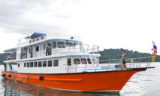 Similan Island Scuba Charter Sea Heaven In Thailand