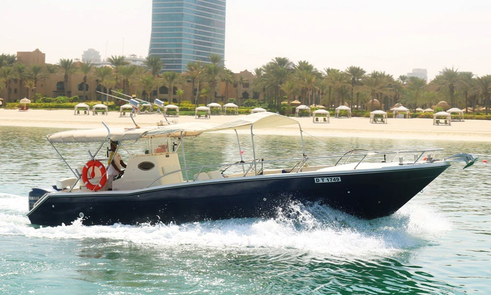 Enjoy the Stunning Beauty of Dubai, UAE on this 36' Center Console