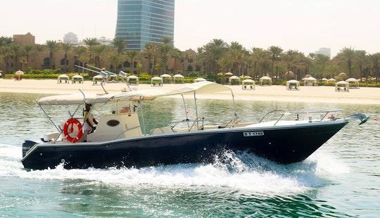 Enjoy The Stunning Beauty Of Dubai, Uae On This 36' Center Console