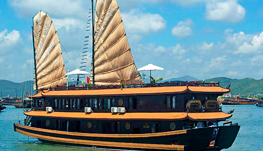2 Days Escape To Halong Bay With Oriental Sails