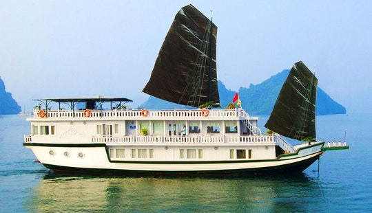 Luxury White Dolphin Cruise (junk Boat) In  Hanoi - Vietnam